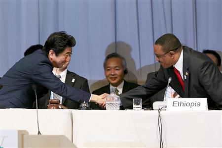 今月横浜にて開催されたアフリカ開発会議