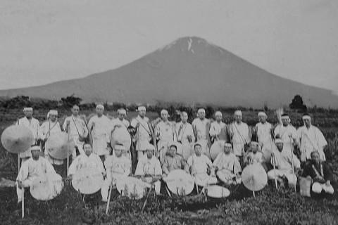 明治時代の富士講の人々
