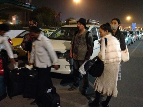 インドに到着