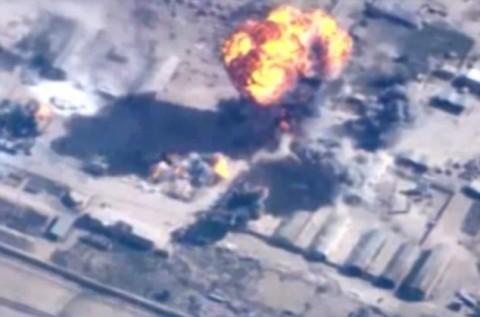 ヨルダン軍による空爆